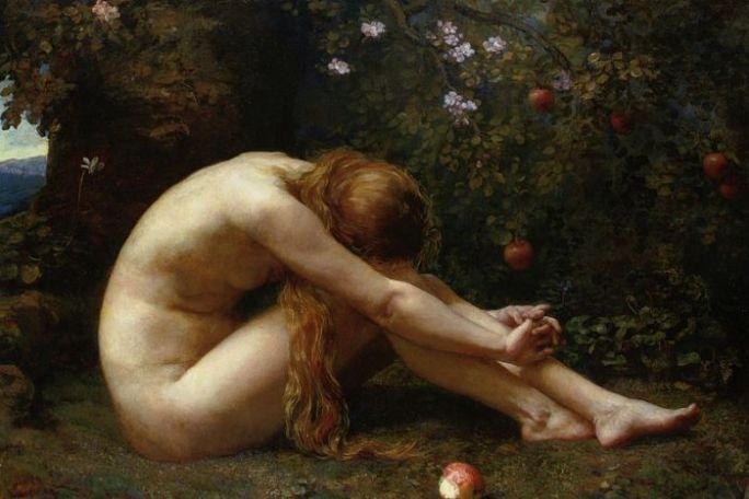"""Eve"" by Anna Lea Merritt (1844-1930) (Wikimedia Commons)"