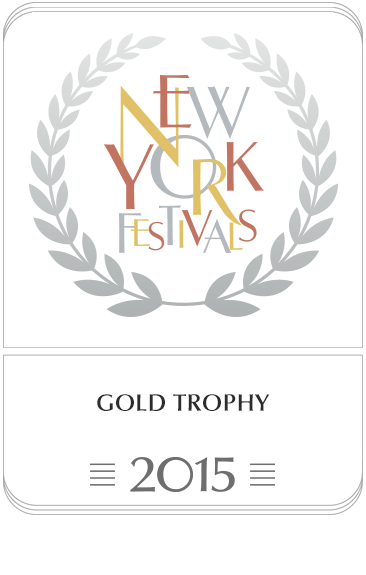 Gold Trophy, New York Festivals 2015